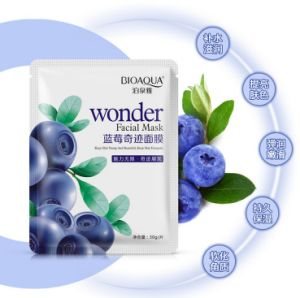 Natural Beauty Blueberry Facial Mask OEM/ODM Whitening Facial Mask pictures & photos