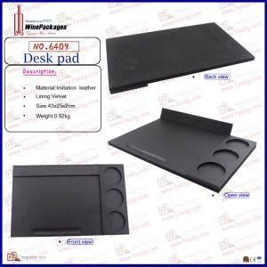 Luxury Leather Office Desk Pad (6409) pictures & photos