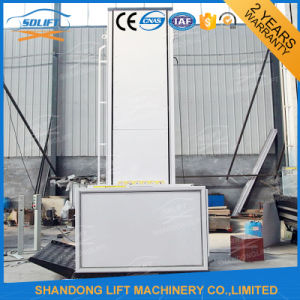 Ce Small Home Elevator Lift Hydraulic Outdoor Lift Elevators pictures & photos
