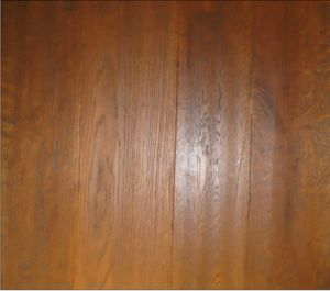 Honey Color Hardwood Floor / Parquet Flooring pictures & photos