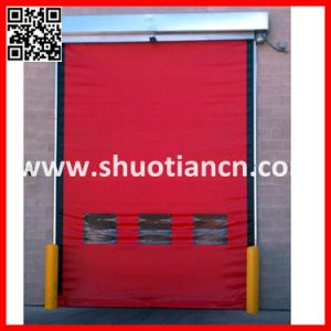 Industrial PVC Rapid Door, Automatic Fabric Rapid Roll up Door pictures & photos