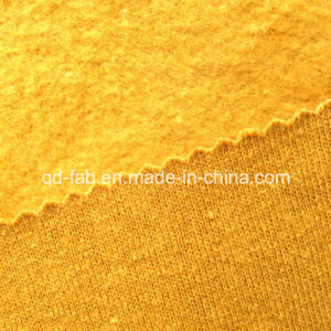 Hemp/Organic Cotton Dyed Brushed Fleece (QF13-0405) pictures & photos
