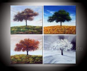 Wholesale Canvas Art Landscape Oil Painting for Home Decor (LA4-054) pictures & photos