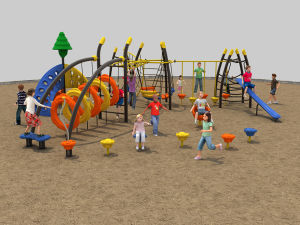 New Jungle Adventure Series Multiple Yard/School Park//Restaurant Playground-17701 pictures & photos