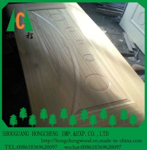 Natural Wood Veneer Door Skin, MDF Moulded Door Skin pictures & photos