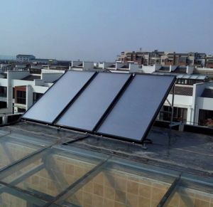 Flat Panel Solar Hot Water System