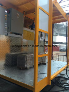 Sc200/200 ODM Construction Hoist with Three Doors Hot Saled in UAE pictures & photos