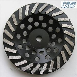 Spiral Segment Abrasive Grinding Wheel