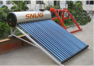 Solar Hot Water Heater, Heat Pipe Pressure. pictures & photos