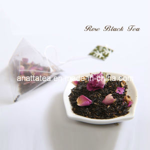 Lose Weight Rose Black Tea with Tea Bag Package