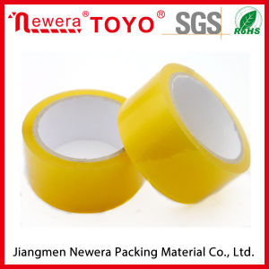 Buff Color BOPP/OPP Adhesive Sealing Tape pictures & photos