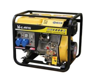 5kw Electric Start Power Diesel Generator Set (DG5000E) pictures & photos