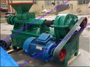 Coal Charcoal Powder China Dust Briquette Stick Extruding Press Machine pictures & photos