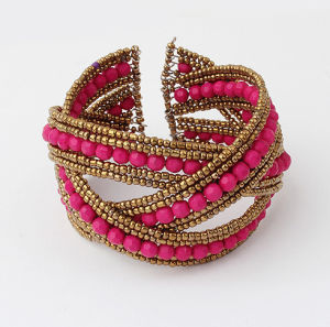 New Fashion Jewelry Handmade Bead Bangle (wf311)