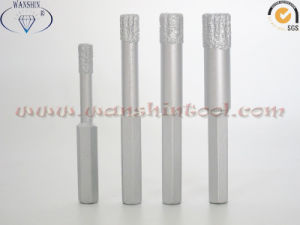 Hex Dry Holesaw Diamond Drill Bits with Wax pictures & photos