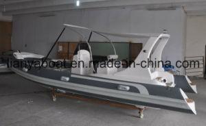 Liya 6.2m Sport Type Yacht Fiberglass Hulls Rib Boat Sale pictures & photos