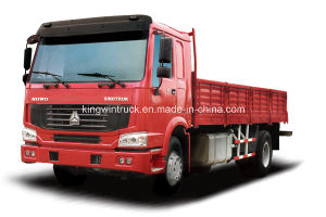 Sinotruk HOWO Brand 4X2 Euro 3 Cargo Truck pictures & photos