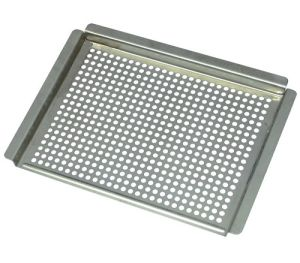 Gray Square BBQ Grill Pan