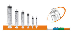 Hypodermic Disposable Luer Lock/Slip Syringe Without Needle pictures & photos