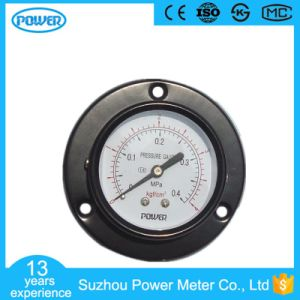 60mm 2.5′′ Black Steel Case Manometer with Front Flange pictures & photos