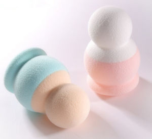 Non-Latex Beauty Sponge Cosmetic Puff Blender Sponge pictures & photos