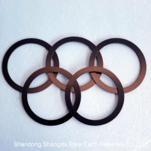 Ring Black Epoxy Permanent NdFeB Magnet