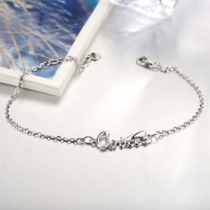 Romantic 925 Sterling Steel Bracelet Letter Design Pendant for Women Hot Sale jewellery pictures & photos