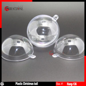 Clear Plastic Christmas Balls (hanging-60) pictures & photos