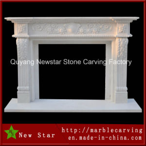 High Quality Hand Carved Stone Fireplace with Best Price (NS-B117) pictures & photos