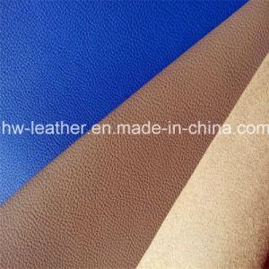 Sofa Furniture PU Microfiber Leather Hw-575 pictures & photos