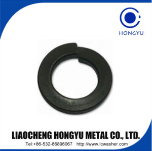 Black Coating Spring Lock Washer pictures & photos