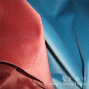 Super Flexible 100% Polyester Velour Fabric for Upholstery pictures & photos
