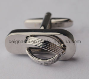 Slippers Cufflinks Unique Rhodium Plated Silver Cufflinks pictures & photos