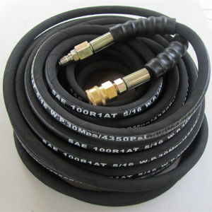OEM Wire Braid Hydraulic Hose Pipe pictures & photos