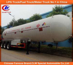 Asme 40000L-60000L 3 Axle LPG Transport Tank Trailer LPG Tanker Semi Trailer for Nigeria pictures & photos