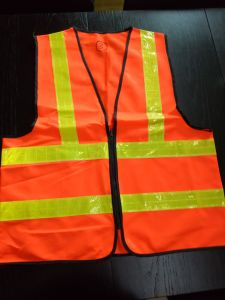 High Visibility Warning Safety Vest From Guangzhou Supplier pictures & photos