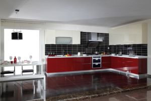 Kitchen Furniture From Demet Acrylic Sheet (zv-028) pictures & photos