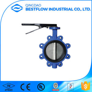 4′′ Cast Iron/Gg25/Ggg40/Ductile Iron Butterfly Valves pictures & photos
