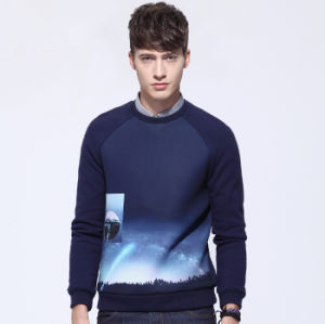 Custom Manufacturer Men Stylish Long Sleeve Printed Hoodies pictures & photos