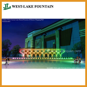 Water Screen Projection Musical Outdoor Pool Fountain for Shopping Mall of Morocco pictures & photos
