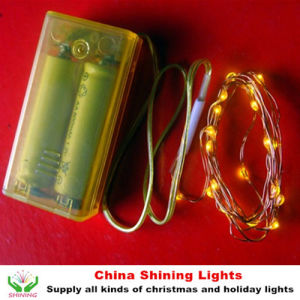 Christmas LED Fairy Battery Lights pictures & photos