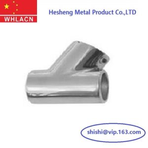 Precision Investment Casting 316 Stainless Steel Handrail Tee pictures & photos