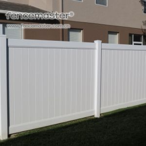 Easily Assembled Privacy Vinyl Fence pictures & photos