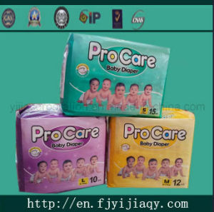 Procare Disposable Cotton Baby Diaper pictures & photos