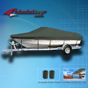 Dark Grey 600d Heavy Duty Marine Fabric Bass Boat Cover