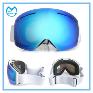 New Customized Ultraviolet Anti Fog PC Ski Snow Goggles pictures & photos