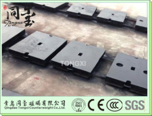 Iron Casting Sand Casting, Terex Crane Counter Weight pictures & photos