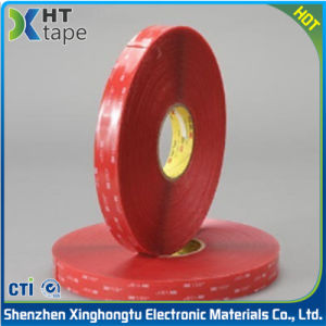 High Temperature Resistant Transparent 3m Foam Double-Sided Adhesive Tape pictures & photos