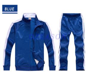Mens High Collar Zip up Red Polar Fleece Jacket pictures & photos