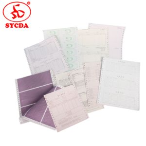 Computer Printing Paper with Quality 3ply CB CFB CF pictures & photos
